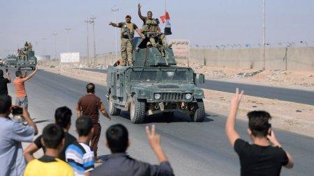 İraq qoşunları Kərkük şəhərini geri aldılar