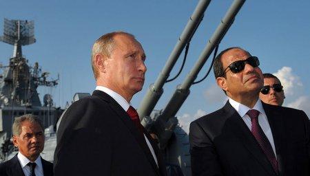 Putin Misirə işğüzar səfər edib
