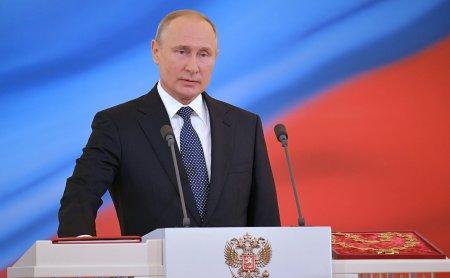 Putin 4-cü dəfə prezident kimi and içdi