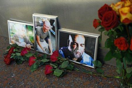 Orxan   Camal və  digər  öldürülən jurnalsitlərin nəşi  avqustun 5-də Moskvaya gətiriləcək