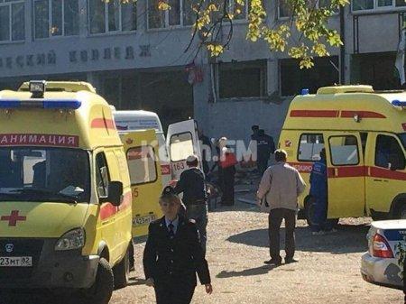 Kerçdə texnikumda partlayış baş verib-10 ölü, 50 yaralı
