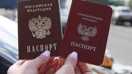 Donetsk sakinlərinin vətəndaşlıq almaq üçün Rusiyaya ilk gəlişi başlandı