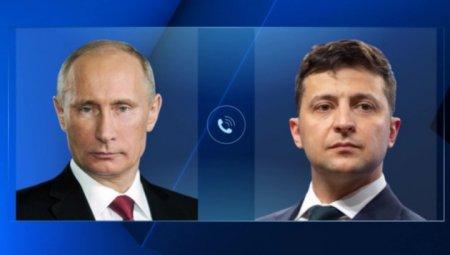 Peskov Putinlə Zelenski arasındakı  telefon söhbətindən danışdı