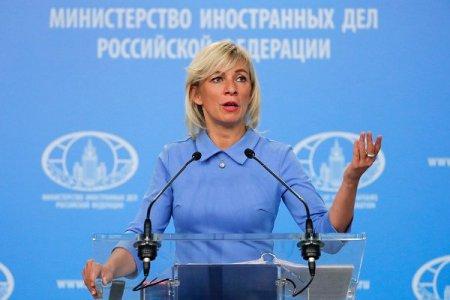 Mariya Zaxarova: Rusiyanın Qarabağın statusu haqqında fikri dəyişməzdir