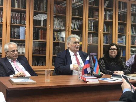 Moskvada Afaq Şıxlının 50 illik yubileyi keçirildi