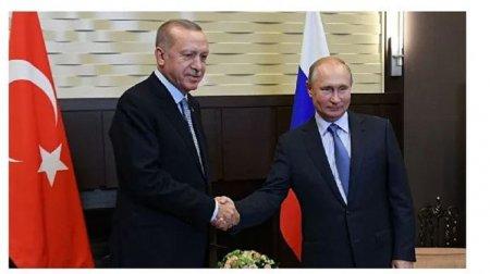 Putin və Ərdoğan görüşməsi 5 saat 40 dəqiqə sürüb