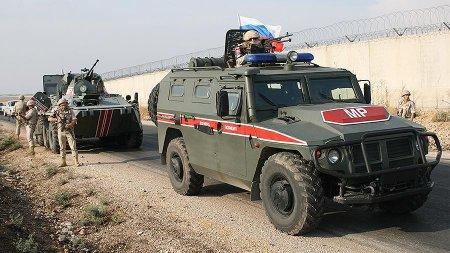 Suriyada Rusiya  polis patrul zirehli maşınını partlatmaq istədilər