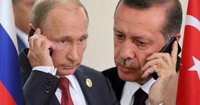 Putin və Ərdoğan telefonda Qarabağ və COVİD peyvəndi məsələsindən danışdılar