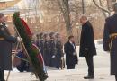 Владимир Путин и Сергей Шойгу возложили цветы к Могиле Неизвестного Солдата