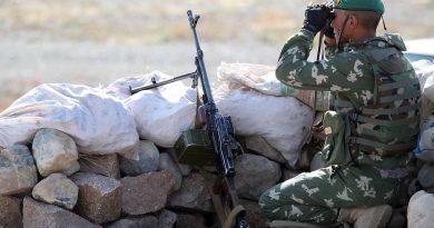 Qırğızıstan  Tacikistan  sərhddində hərbi hissələr arasında  atışta