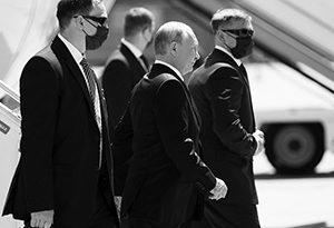 Путин прибыл на переговоры с Байденом