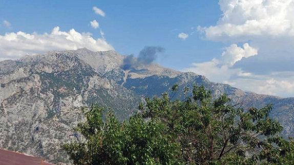 В Турции при крушении пожарного самолета из РФ погибли пять российских военных